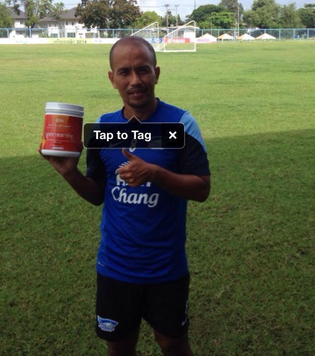 อดีตนักฟุตบอลทีมชาติไทยระดับตำนาน คุณ เทิดศักดิ์ ใจมั่น จากชลบุรี FC